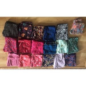 Lularoe OS legging lot